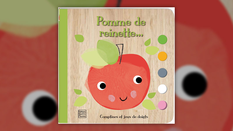 Emily Bannister, Pomme de reinette: comptines et jeux de doigts