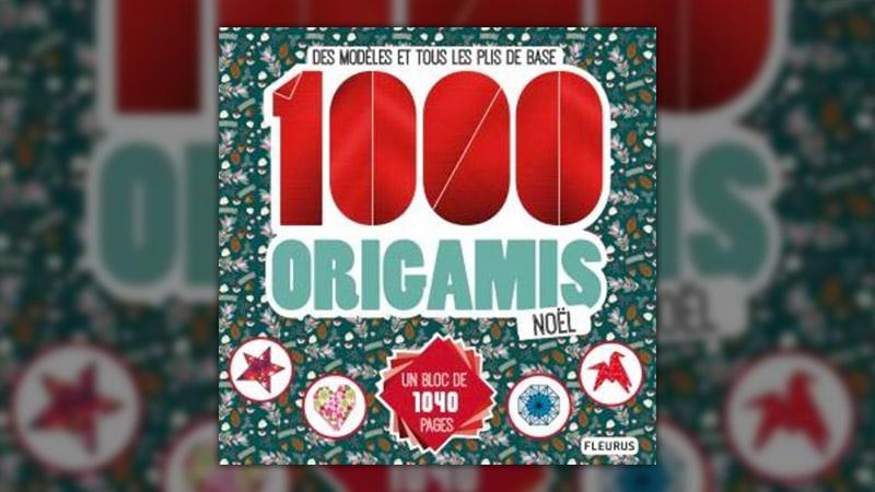 Marie Bretin, 1000 origamis Noël