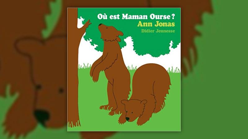 Ann Jonas, Où est Maman Ourse?