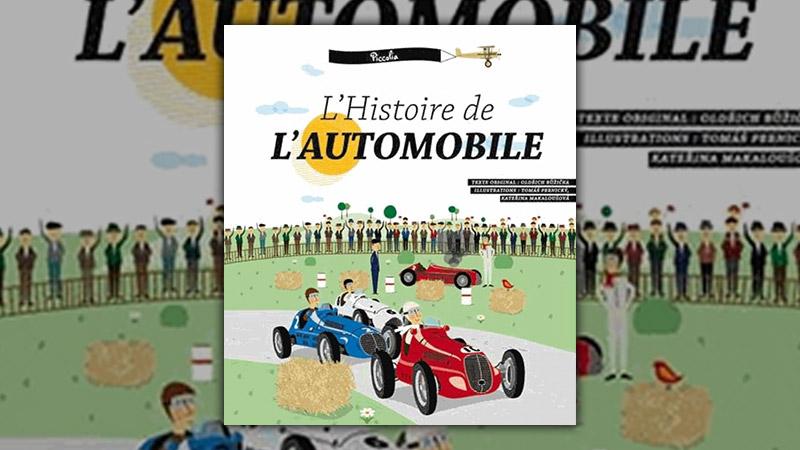 Oldřich Růžička, Histoire de l'automobile