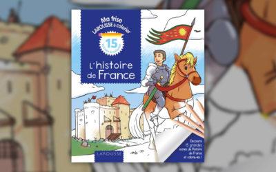 Elisabeth de Lambilly, L'Histoire de France à colorier