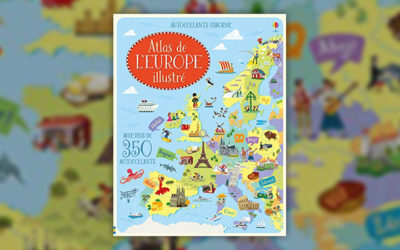 Atlas de l'Europe illustré (Collectif)