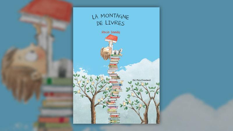 Rocio Bonilla, La Montagne de livres