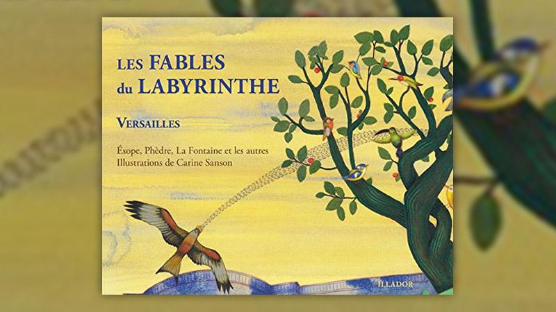 Les Fables du Labyrinthe, illustrées par Carine Sanson
