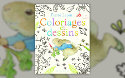 Beatrix Potter, Pierre Lapin, coloriages et dessins