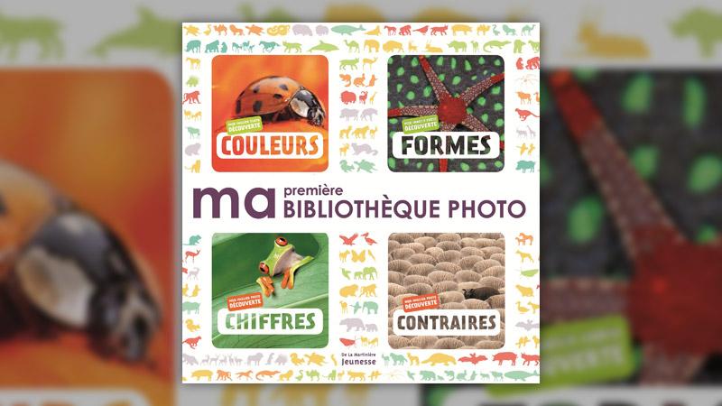 Biosphoto, Ma première bibliothèque photo, Couleurs, Formes, Chiffres, Contraires