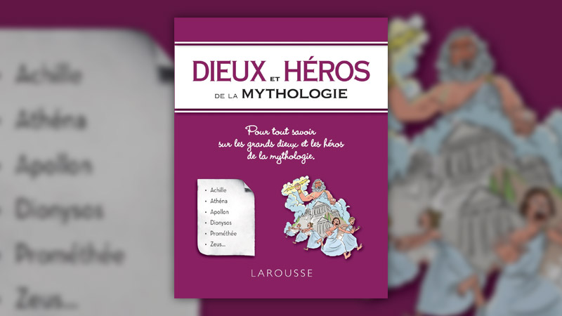 Dieux et héros de la mythologie, collectif