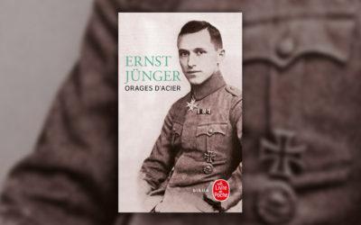 Ernst Jünger, Orages d'acier