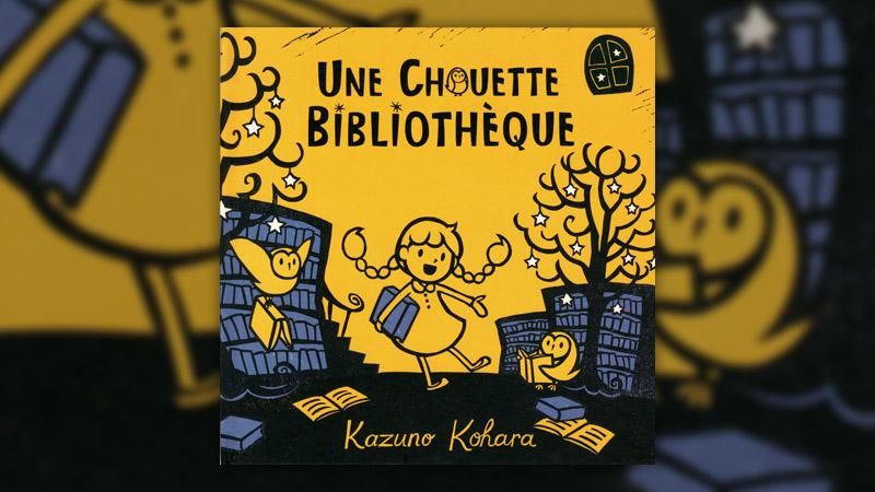 Kazuno Kohara, Une chouette bibliothèque