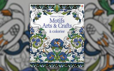 Hazel Maskell et Sveta Dorosheva, Motifs Arts & Crafts à colorier