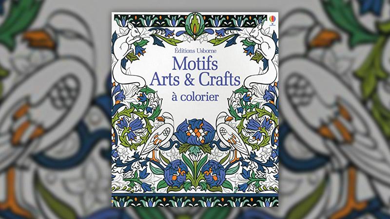 "Hazel Maskell et Sveta Dorosheva, Motifs Arts <span class=""amp"">&</span> Crafts à colorier"
