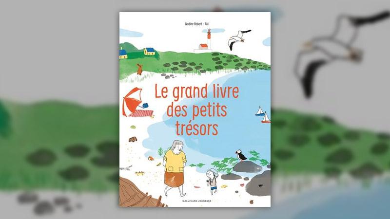 Nadine Robert et Aki, Le grand livre des petits trésors