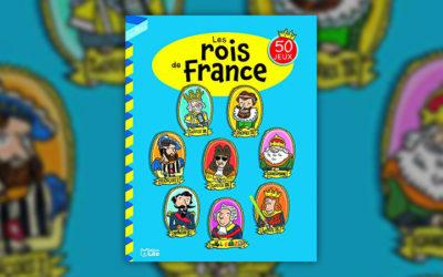 Virginie Loubier et Laurent Audouin, Joue avec… Les rois de France — 50 jeux