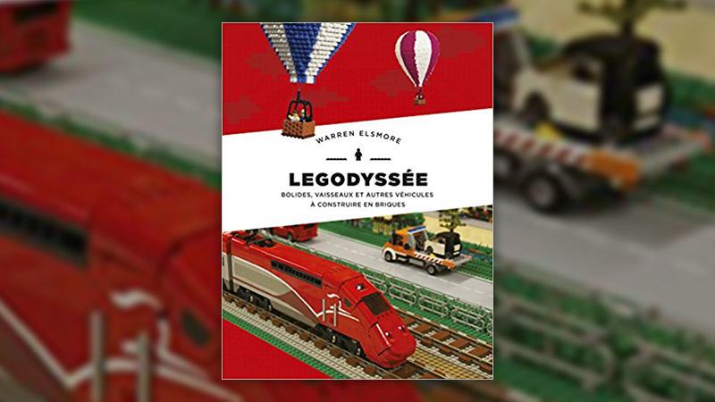 Warren Elsmore, Legodyssée, bolides, vaisseaux et autres véhicules à construire en briques