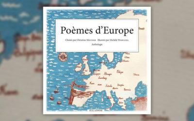 Poèmes d'Europe, choisis par Christine Meunier