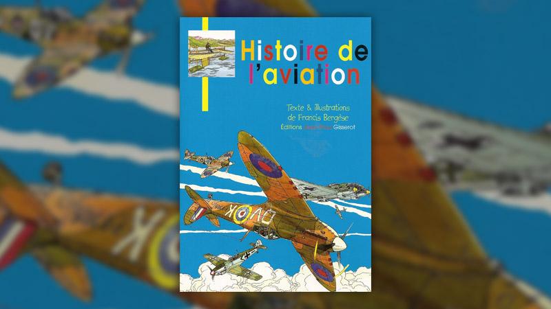 Francis Bergèse, Histoire de l'aviation