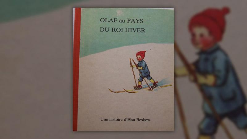 Elsa Beskow, Olaf au pays du roi Hiver