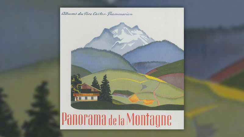 Alexandra Exter et Marie Colmont, Panorama de la montagne