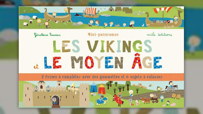 Géraldine Cosneau, Les Vikings et le Moyen Age, mini-panorama
