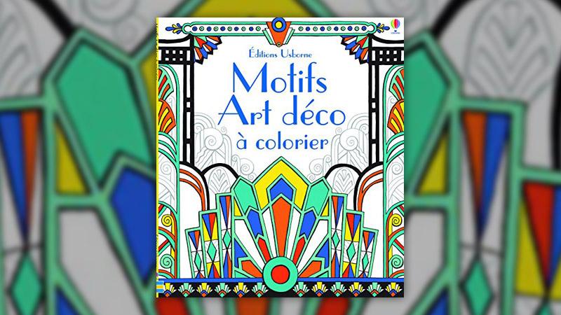 Emily Bone, Motifs Art déco à colorier
