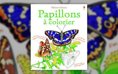 Megan Cullis et Jenny Cooper, Papillons à colorier