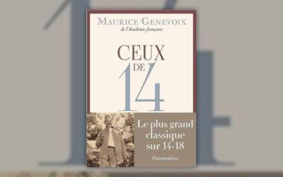 Maurice Genevoix, Ceux de 14