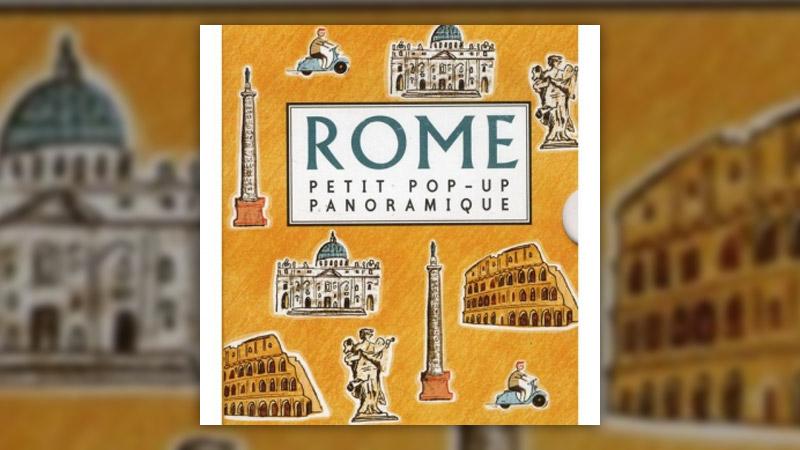 Sarah McMenemy, Rome, Petit pop-up panoramique