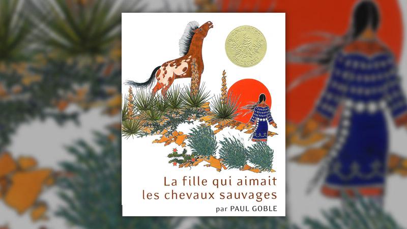 Paul Goble, La fille qui aimait les chevaux sauvages