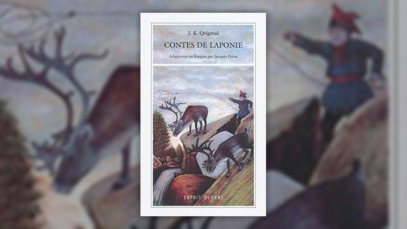 Just Knud Qvigstad, Contes de Laponie