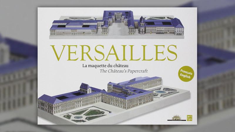 Versailles: La maquette du château