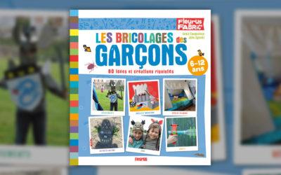 Julie Oginski et Denis Cauquetoux, Les bricolages des garçons, 80 idées et créations rigolotes