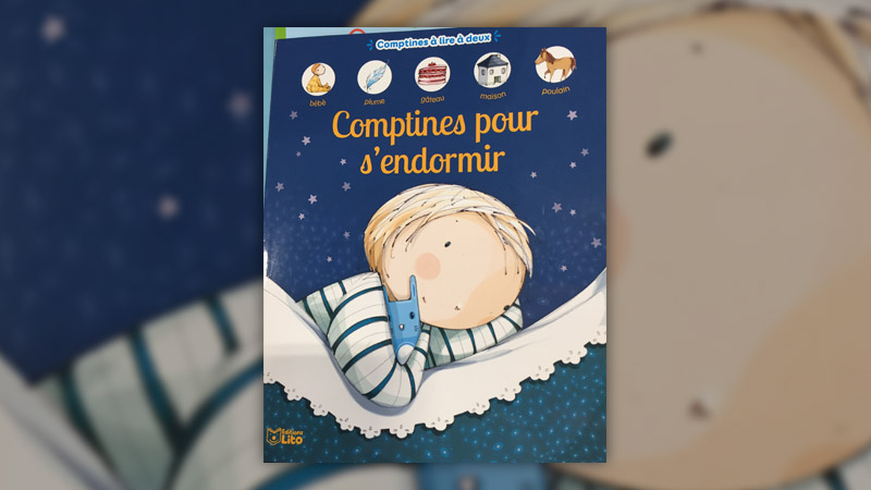 Caroline Pelissier, Comptines pour s'endormir