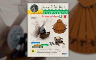 Francesco Frangioja, Léonard de Vinci, construis ses inventions en briques Lego