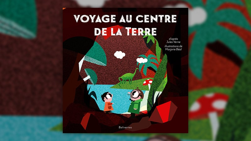 Jules Verne (d'après), Voyage au centre de la Terre