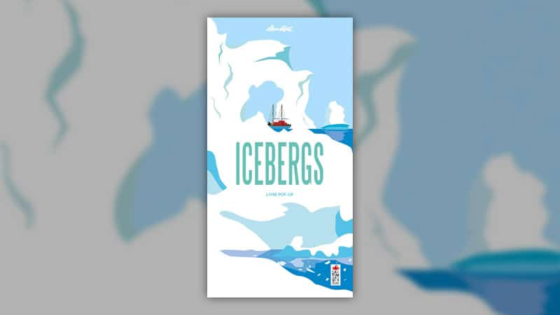 Elmodie, Icebergs – livre pop-up