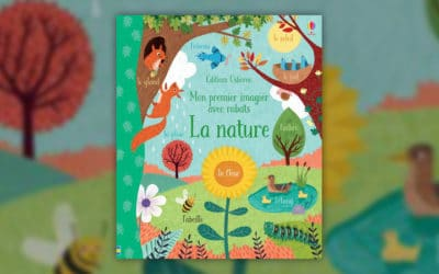 Jessica Greenwell, Mon premier imagier avec rabats, La Nature