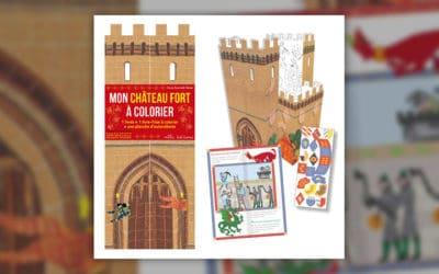 Claire Zucchelli-Romer, Mon château fort à colorier