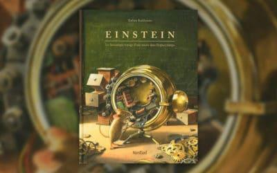 Torben Kuhlmann, Einstein, Le fantastique voyage d'une souris dans l'espace-temps