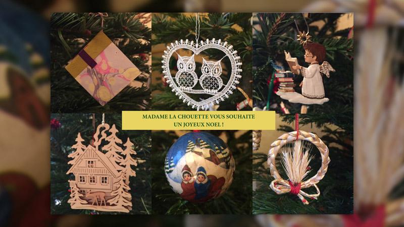 Madame la Chouette vous souhaite un joyeux Noël!
