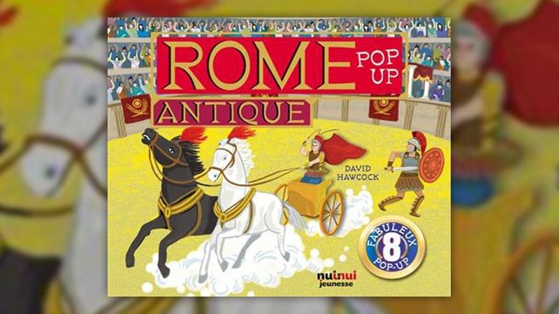 David Hawcock, Rome antique – Pop-up