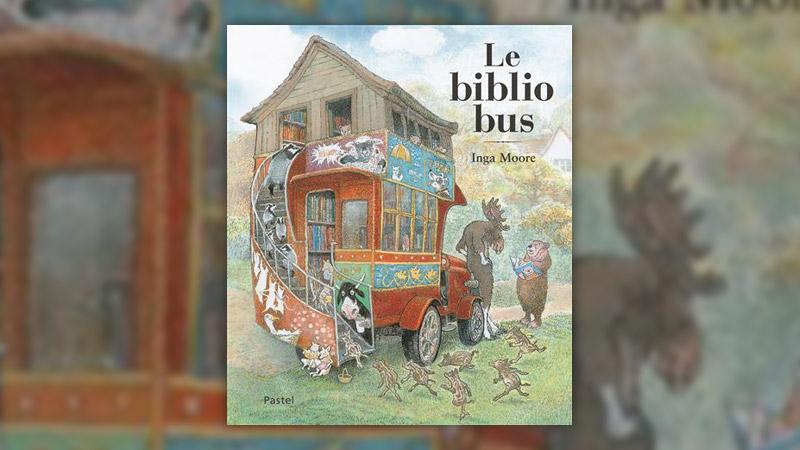 Inga Moore, Le bibliobus
